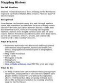 Mapping History Lesson Plan