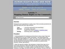 Mapping Human Rights in Our Community Lesson Plan