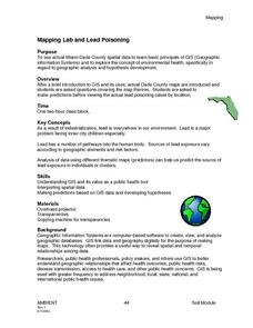 Mapping Lab and Lead Poisoning Lesson Plan