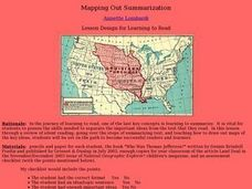 Mapping Out Summarization Lesson Plan