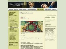 Mapping Shakespeare Lesson Plan