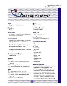Mapping the Canyon Lesson Plan