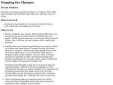 Mapping the Changes Lesson Plan