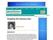 Mapping the Homunculus Lesson Plan