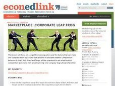 Marketplace:  Corporate Leap Frog Lesson Plan
