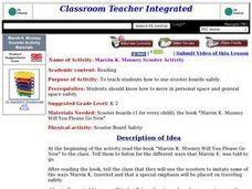 MARVIN K. MOONEY SCOOTER ACTIVITY Lesson Plan