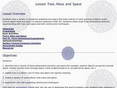 Mass and Space Lesson Plan