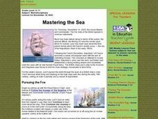 Mastering the Sea Lesson Plan