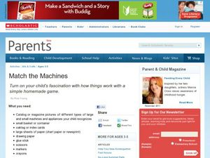 Match the Machine Lesson Plan