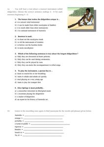 Matching Endings to Beginnings Worksheet