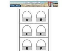 Matching Upper and Lower Case Alphabet Letters Worksheet