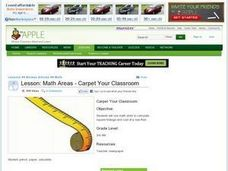 Math Areas - Carpet Your Classroom Lesson Plan