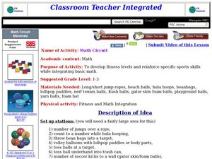Math Circuit Lesson Plan