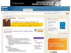 Math Investigations Lesson Plan