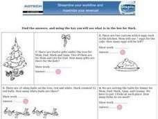 Math Online Word Problems Worksheet