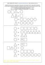 Math Symbol Puzzles Lesson Plan