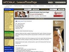 Math Think Alouds Lesson Plan