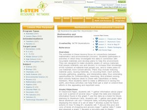 Mathematics and Environmental Concerns Lesson Plan