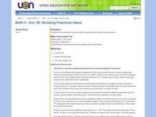 Mathematics: Building Fractions Game Lesson Plan