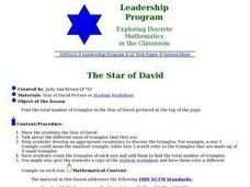 Mathematics: The Star of David Lesson Plan