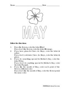 May Lesson Plan