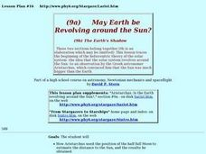 May The Earth Be Revolving Around The Sun? Lesson Plan