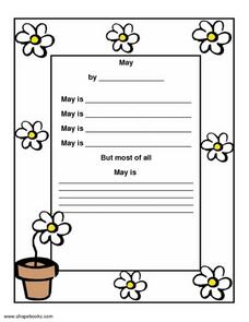 May Worksheet Worksheet
