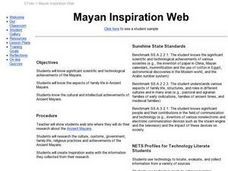 Mayan Inspiration Web Lesson Plan