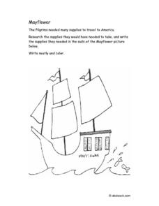 Mayflower Lesson Plan