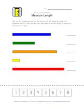 Measure Length Worksheet