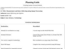 Measurement and Data Collecting using Image Processing Lesson Plan
