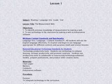 Measurement Web Lesson Plan