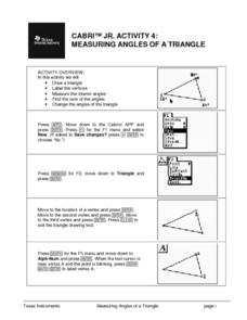 Measuring Angles of a Triangle Lesson Plan