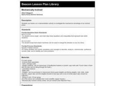 Mechanically Inclined Lesson Plan