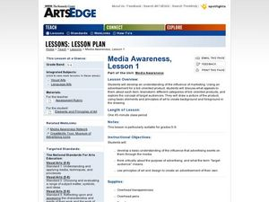 Media Awareness, Lesson 1 Worksheet