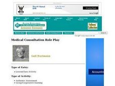 Medical Consultation Role Play Lesson Plan
