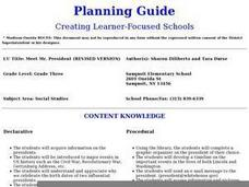 Meet Mr. President Lesson Plan