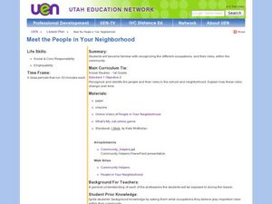 Meet the People In Your Neighborhood Lesson Plan