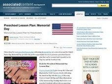 Memorial Day Lesson Plan