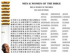 Men and Women of the Bible Worksheet