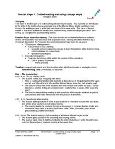 Mercer Mayer 1:  Guided Reading and Using Concept Maps Lesson Plan