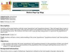 Metro Pop Up Map Lesson Plan