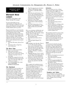 lesson plan for microsoft word selo l ink co
