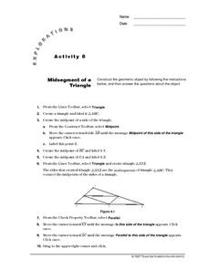 Midsegment of a Triangle Lesson Plan