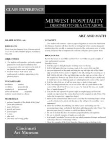Midwest Hospitality Lesson Plan