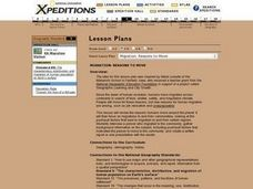 Migration: Reasons to Move Lesson Plan