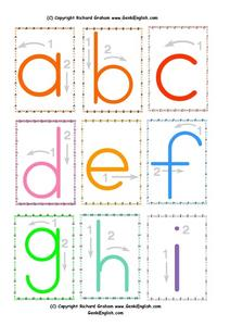 Mini Phonics Arrows: a-e Worksheet