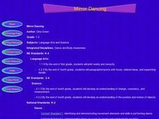 Mirror Dancing Lesson Plan
