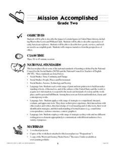 Mission Accomplished Lesson Plan