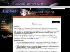 Mission: Moon! Lesson Plan